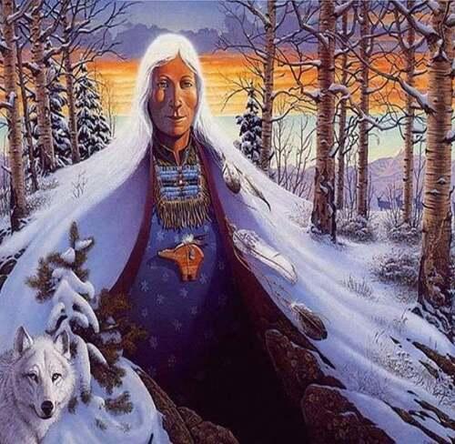 Amérindiens, le 'Bonhomme Hiver' Manon Roy Les peuples autochtones en images