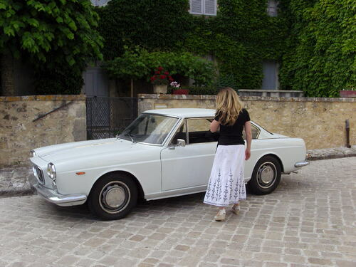 lancia flavia de 1965 carrossée par pininfarina