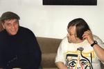Bei Fritz Reutemann (rechts im Bild) zu Besuch