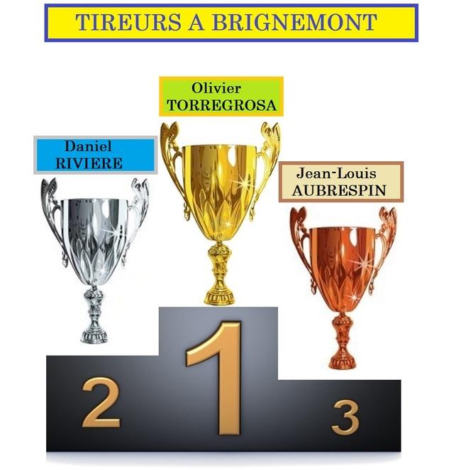 3 ième ET DERNIER TOUR DE L'INTER CLUB A BRIGNEMONT.