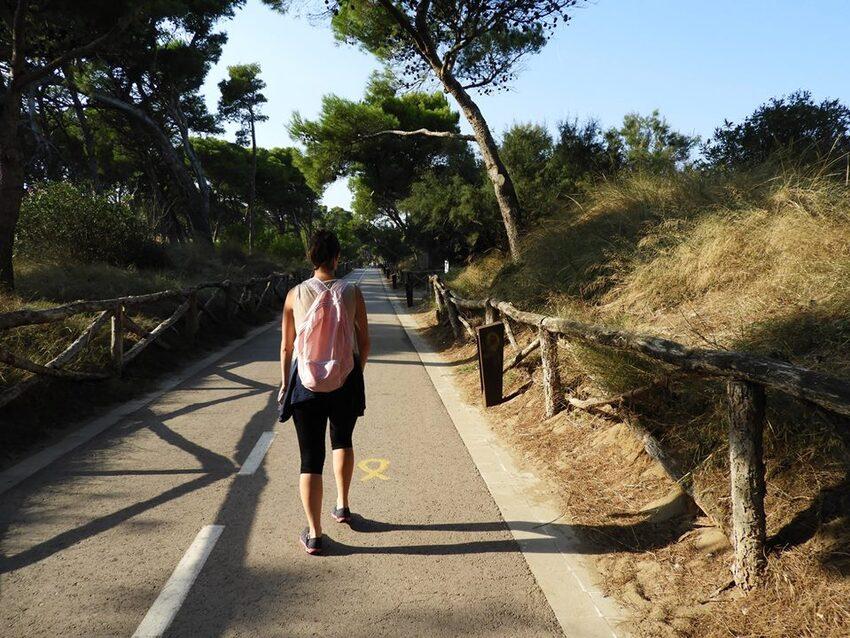 L'Escala et son chemin de ronde