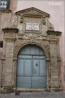 Pézenas Hérault Hôtel de Montmorency connétable Henri 1er de Montmorency