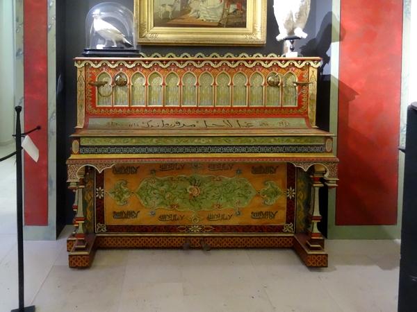 L'histoire du piano mauresque exposé au Musée du Pays Châtillonnais