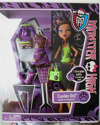 Clawdeen Wolf I love Fashion
