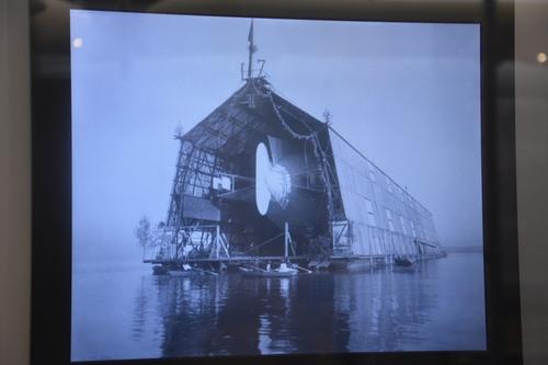 Musée Zeppelin de Friedrichshafen -Allemagne - Aout 2015
