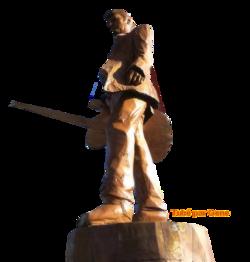 Statuts en  bois