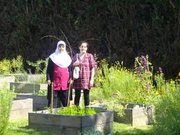 """Visite de l'association """"Rencontre de femmes"""" au jardin du carmel"""