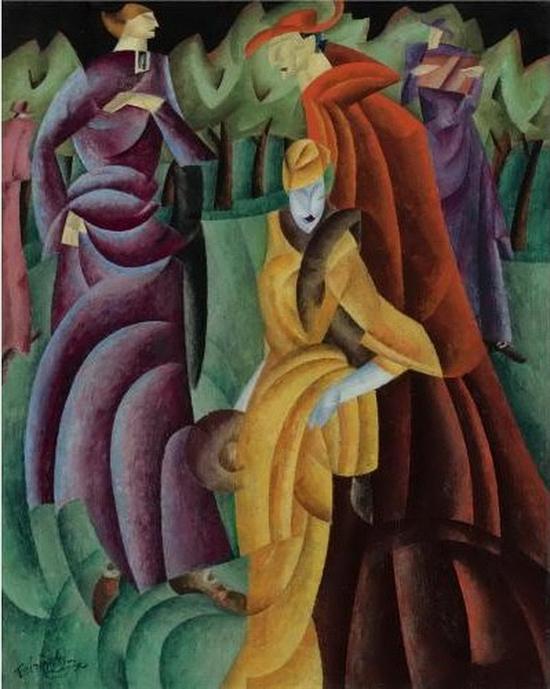 Lyonel Feininger, Jesuites III
