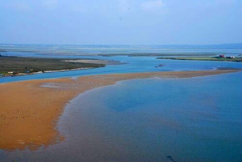 Encore la lagune vue du heaut