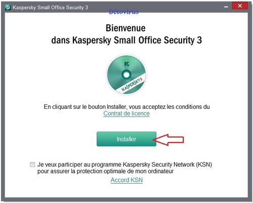 Kaspersky Small Office Security 3 - Licence 90 jours gratuits