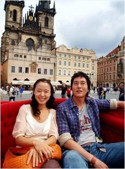 Lover in Prague...