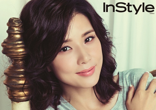 Lee Bo Young pour InStyle