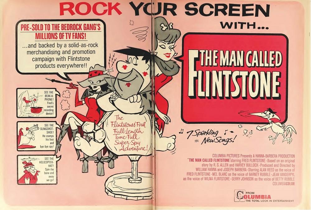 THE MAN CALLED FLINTSTONE box office 1966