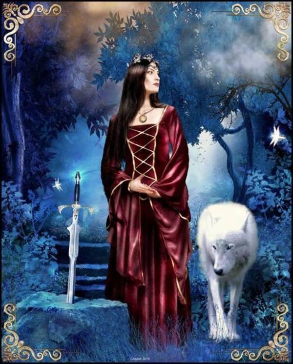 Dames gothiques et médiévales
