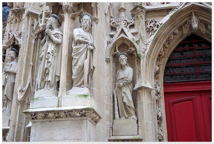 Flâner à Paris. 03. Eglise Saint Merri.