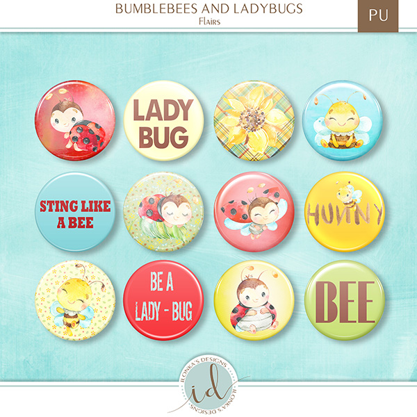 Bumblebees And Ladybugs - Release April 15th 2019 id_bum15.jpg