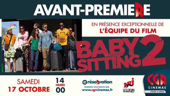 """AVANT PREMIERE """"FILM BABY SITTING 2"""" - MEGA CGR 2 DES DEUX LIONS"""