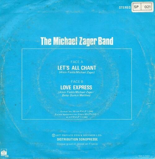 Michael Zager Band 02