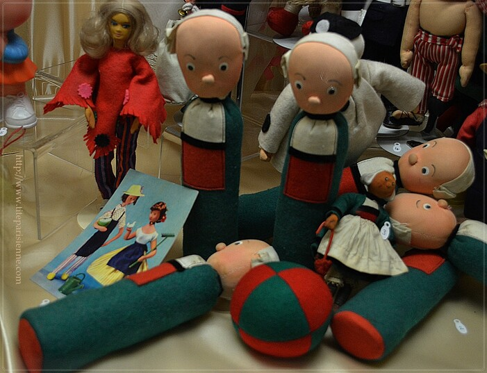 Le Musée de la Poupée : Collection permanente : Bécassine