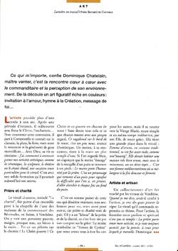 Article Feu et Lumière 6 octobre 2007