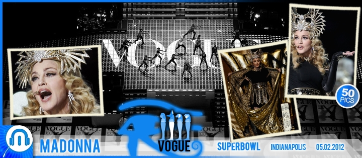 Madonna SuperBowl Vogue