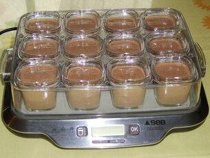 Blog de charlottopoire : Mes petites créas, Petits pots de crème au chocolat