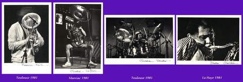 Jazz : première série de cartes postales éditée en France en 1982 !