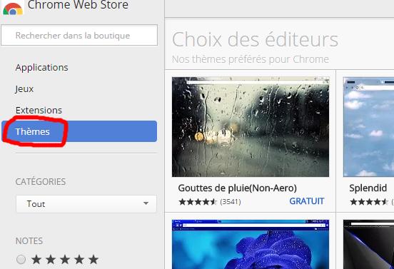 [tuto PC] Changer le thème de Google Chrome