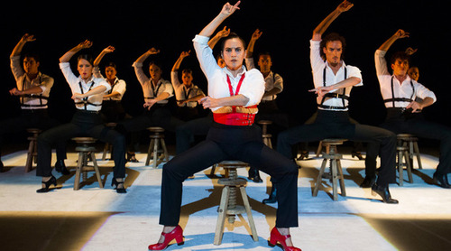 dance ballet flamenco andalous