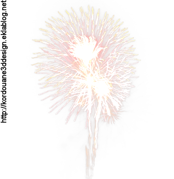 Feu d'artifice (image png-tube)