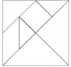 Le tangram du petit chinois - Grande section
