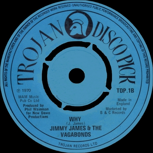"Jimmy James & The vagabonds ; Album "" You Don't Stand A Chance If You Can't Dance "" Pye Records PYE 12111 [ US ]"