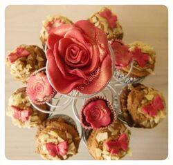 Cupcake choco-craquant mystère