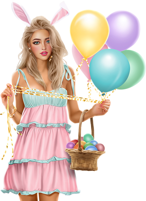 Easter Woman