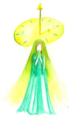 Inktober 2015 sainte horloge