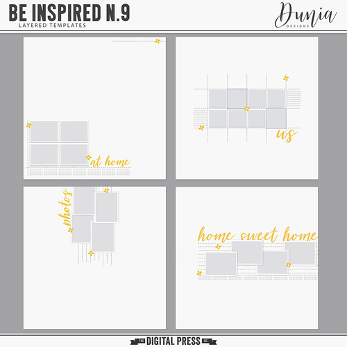 Be Inspired N 9-Templates