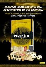 PROPHETIE Tome 1 : Le Maître du Jeu