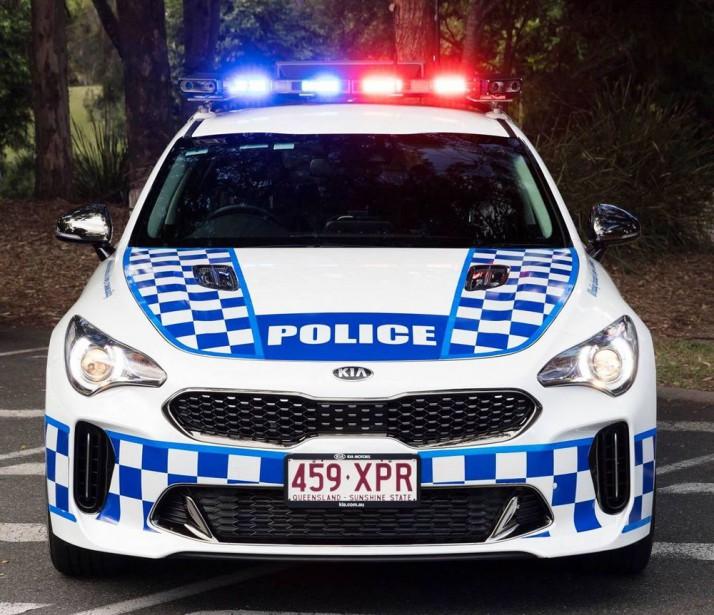 Police australienne !