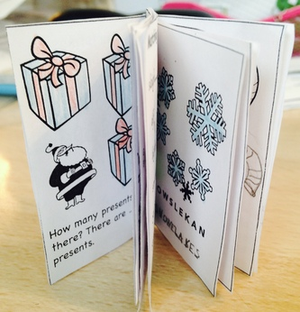 Christmas English mini-book