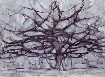 Piet Mondrian, L'arbre gris