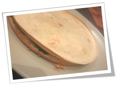 Quesadillas aux épinards