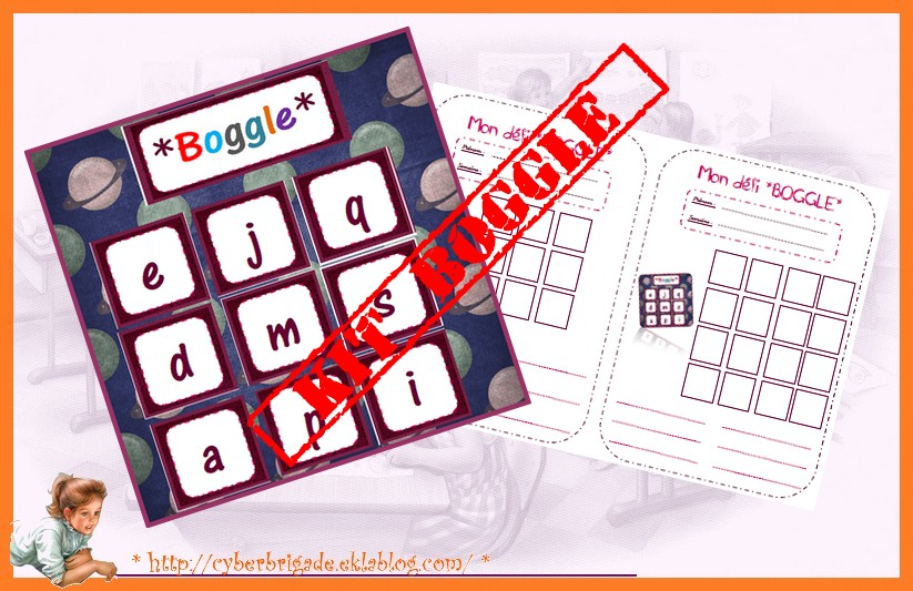 * BOGGLE ' party *