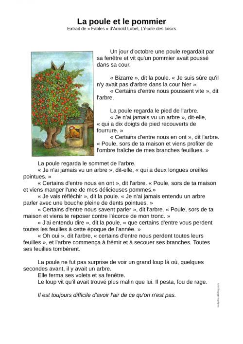 Populaire Textes de lecture CE1 autour de la ruse - Zaubette OD28