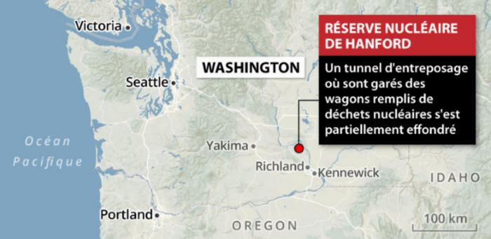 État d'urgence au complexe nucléaire de Hanford aux États-Unis