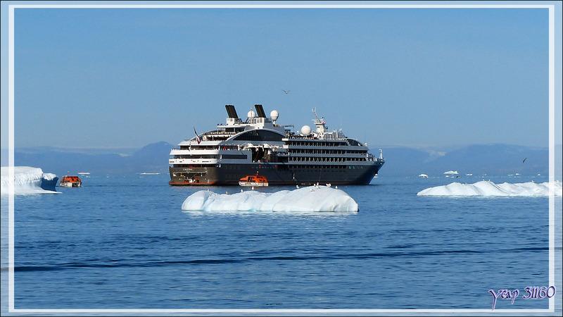 Nous allons rejoindre l'Austral pour le repas - Ilulissat - Groenland