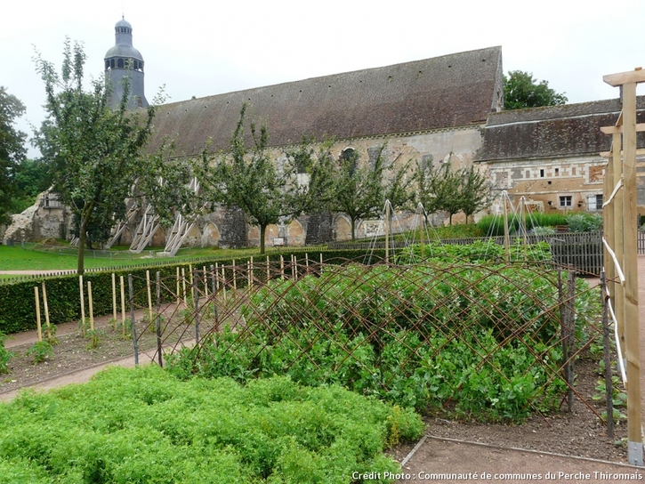 Jardins de l'Abbaye de Thiron Gardais