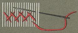Point de chausson 2