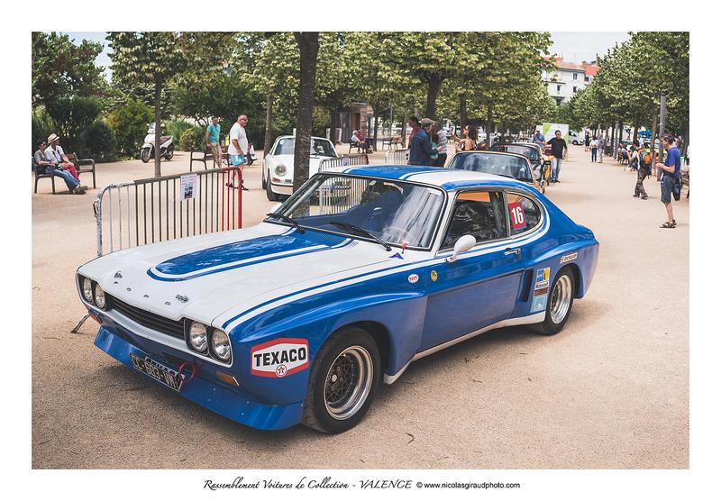 Rassemblement voitures de collection à Valence