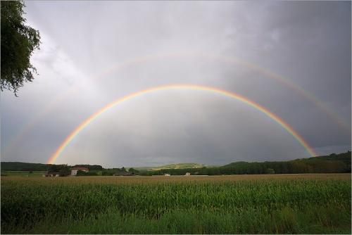 Arc en ciel double