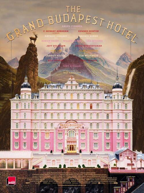 "Bonsoir à l'honneur : "" The Grand Budapest Hotel """